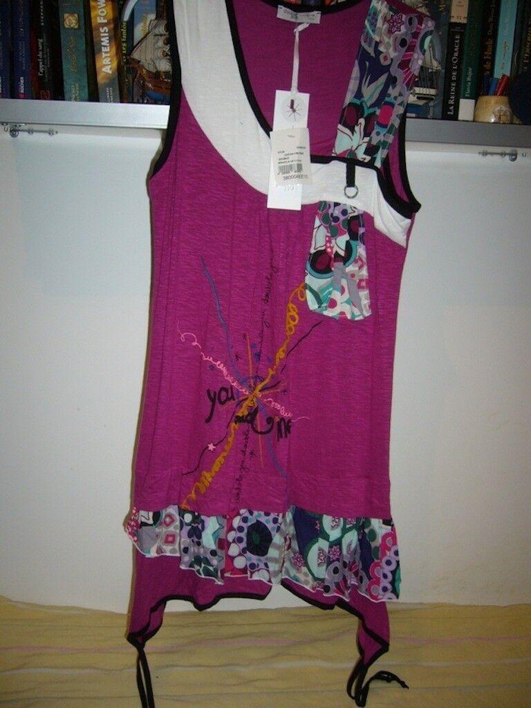 Robe tunique modèle «Brasilia 08» - collection printemps été 2010DOUBLE JEU
