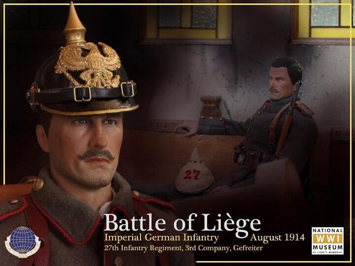 artículos novedosos Primera Guerra Mundial Imperial Alemán Alemán Alemán Infantryman batalla de Liege figura de escala 1914 16th de agosto  producto de calidad
