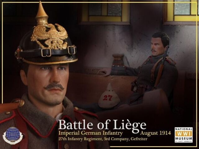 CalTek 1//6 Scale German Infantryman Battle of Liege Identity Pouch CAL-8014