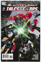 Blackest Night Tales Of The Corps 3 of 3 DC 2009 VF NM Green Lantern Variant