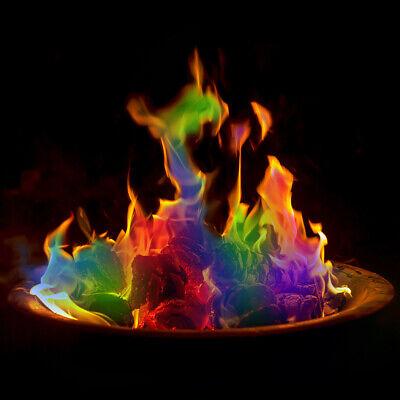 Coloured Flames Magic Colour Changing Fire Bonfire Mystical Fire 3 Pack