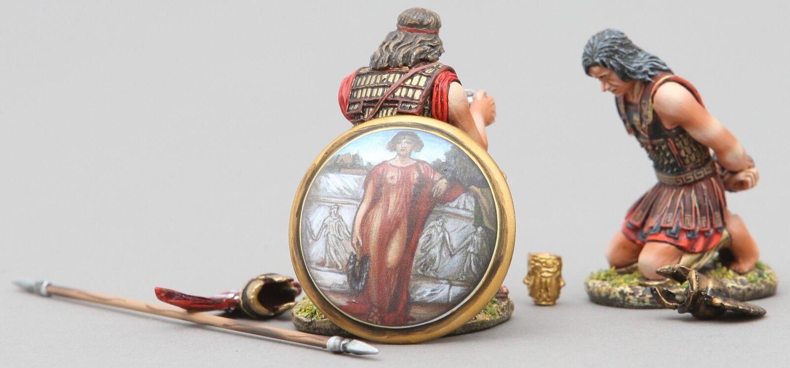 Thomas Gunn Antik Greeks & Persians SPA028C Spartan Gefangener Set MIB