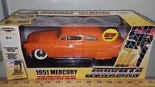1/18 ERTL AMERICAN MUSCLE JUNKMAN 1951 MERCURY ORANGE pd