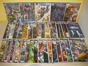 TRANSFORMERS #1-39 - Robots in Disguise - ANNUAL 2012 - Barber IDW RID Griffith