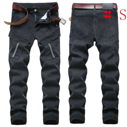 Men Jeans Skinny Jeans Frayed Jeans Ripped Jeans Denim Pant Stretchy Pant Casual