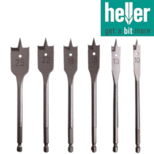 6mm Heller Flat Wood Bit each