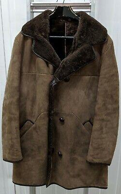 2019 Nuovo Stile Men's Sheerling Marrone Cappotto Vintage-mostra Il Titolo Originale