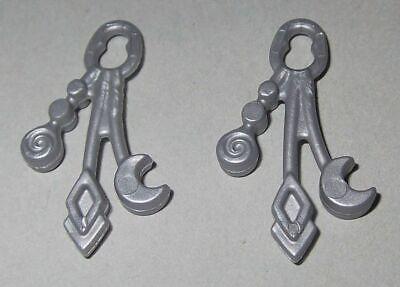 257406 Cinturón adorno plata 2u playmobil,belt