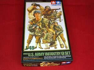TAMIYA-1-48-Militari-IN-MINIATURA-serie-No-13-Fanteria-Esercito-Americano-Set-GI