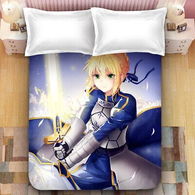 Anime Fate//Prototype Arthur Pendragon Dakimakura Throw Bed Pillow Case 35x55cm