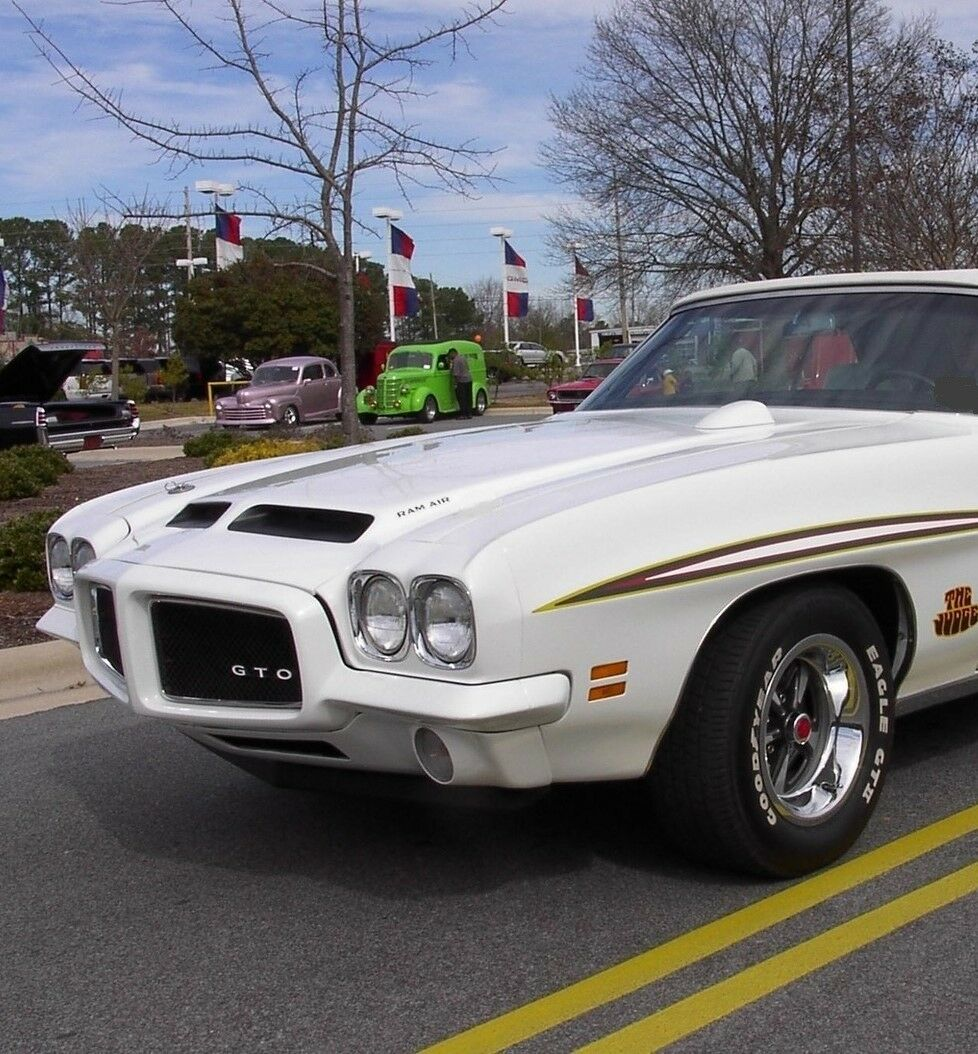 Classic GTO Pontiac Built 1970s 1 Vintage 24 Sport Car 25 White 12 Model 18 8