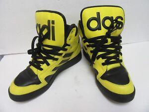 on sale 0fb67 c6e72 Image is loading Adidas-Originals-sneakers-Jeremy-Scott-Instinct-Hi-shoes-