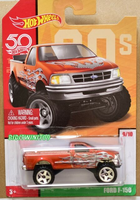 Hot Wheels 2018 Retroceso Decades 50th Aniversario Ford F-150 #9/10
