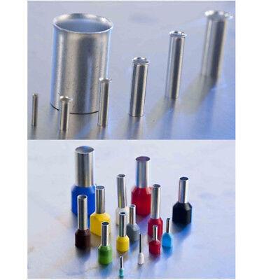 Crimpzange Kabelschuhzange 0,5 - 6 mm² Aderendhülse Single Cord End Terminals