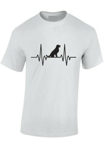XXXL Dog Pulse Heartbeat T-Shirt Puppy,K9,Dog Walking Tee Adult /& Kids SM