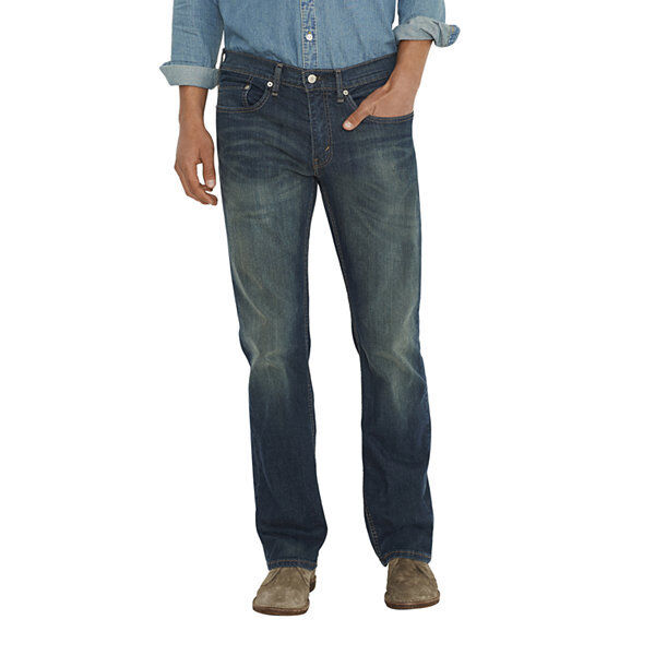 6f73c7646313de Fit 56x30 Levi's 559 Relaxed Straight Stonewashed Denim Blue Jeans ...