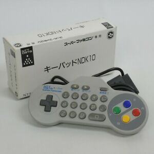 Super-Famicom-Controller-NTT-DATA-KEYPAD-NDK10-Key-pad-Boxed-Nintendo-Ref-1510