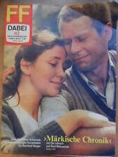 FF DABEI 2-1983 TV 3.-9.1. HORCH Märkische Chronik Kuweit Kammerorchester Berlin