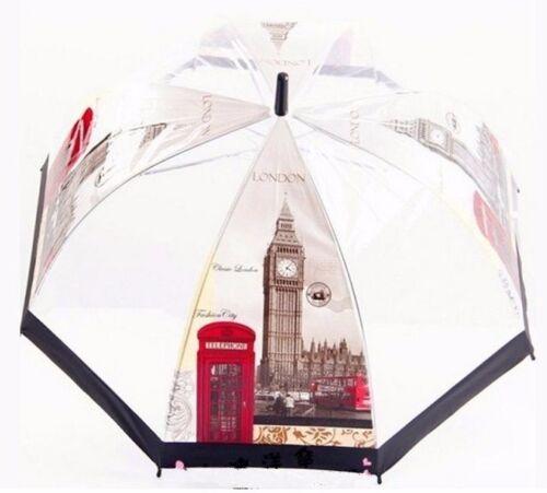 Trasparente Bubble Dome Umbrella-Chiara vedere attraverso BIRDCAGE forma-Londra