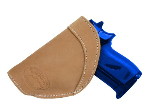 New Barsony Tan Leather IWB Holster Mag Pouch Makarov FEG 380 Ultra Compact