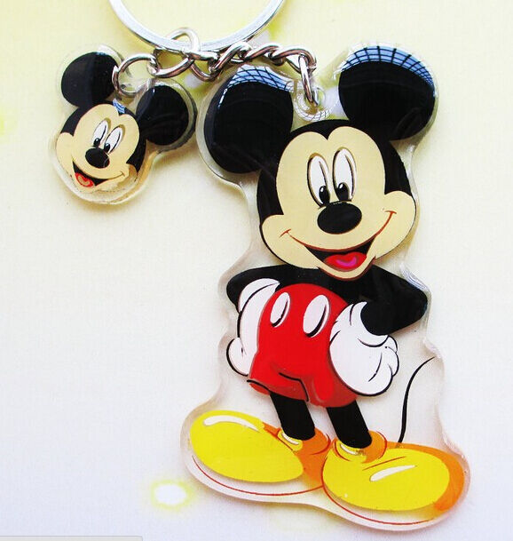 FD372 Cute Cartoon Mouse Keychain Keyring Key Chain Ring Charm X'mas Gift  1pc:)