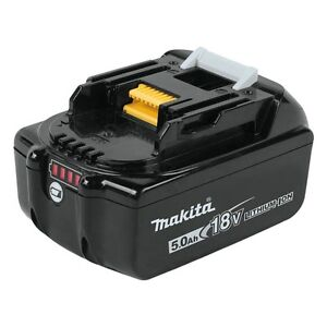 Makita BL1850B 18-Volt 5.0 Ah LXT Lithium-Ion Battery