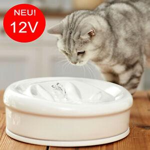 Aqua-Feline-Premium-Keramik-Katzenbrunnen-Trinkbrunnen-Wasserspender-2-0L-12V