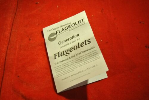 FLAGEOLET LAITON FA  generation music