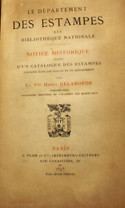 ESTAMPES-DEPARTEMENT-DELABORDE-1875-CATALOGUE-T-RARE