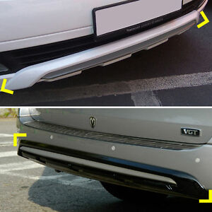 Front-Rear-Bumper-Guard-Diffuser-2p-for-2007-2015-Hyundai-i800-H1-Starex