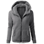 Women-039-s-Warm-Winter-Zip-Up-Fleece-Fur-Coat-Hooded-Parka-Overcoat-Jacket-Outwear thumbnail 11