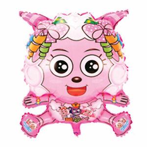 Ballon-Feuille-Brebis-D-039-Helium-a-Gonfler-Anniversaire-D-039-Enfant-Mouton-Rose