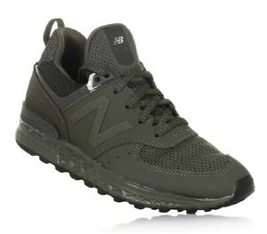 Details about New Balance Boys' 574 Sport Casual Sneakers from Finish Line olive color US: 4.5
