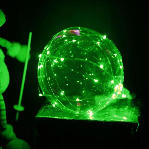 LED Light 20 en ballon de mariage transparent ballon anniversaire  Noël fêteIHS