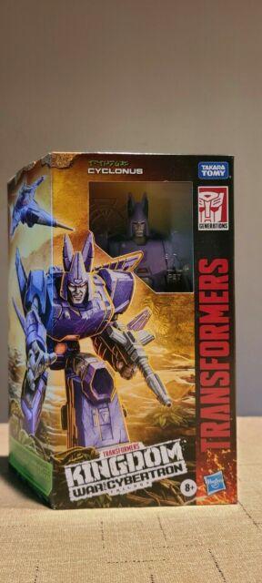 Transformers: War for Cybertron - Kingdom Voyager Cyclonus (WFC-K9)