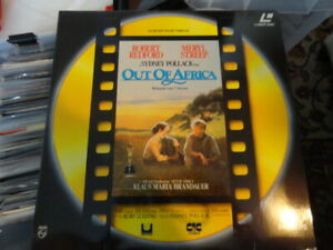 039-Out-Of-Africa-039-1991-Dutch-Edition-Double-laser-Disc-PAL