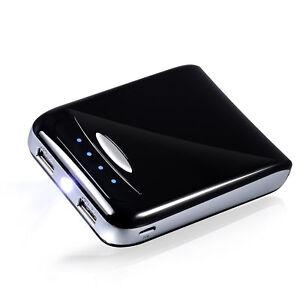 Details zu CSL Power Bank 10400 mAh Akku USB Ladegerät f. Smartphone Tablet