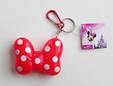 Disney - Minnie Mouse Red Bow Coin Holder Keychain Keyring - Backpack Clip  25044 17c9975f3364