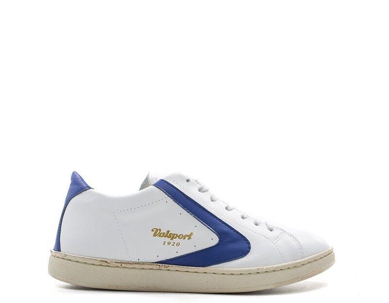 shoes VALSPORT men SNEAKERS TRENDY  BIANCO Pelle naturale TOURNAMENT-701