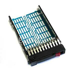 New-2-5-034-SAS-SATA-SFF-Hard-Drive-Tray-Caddy-for-HP-Proliant-ML350-G5-G6-USA-Ship