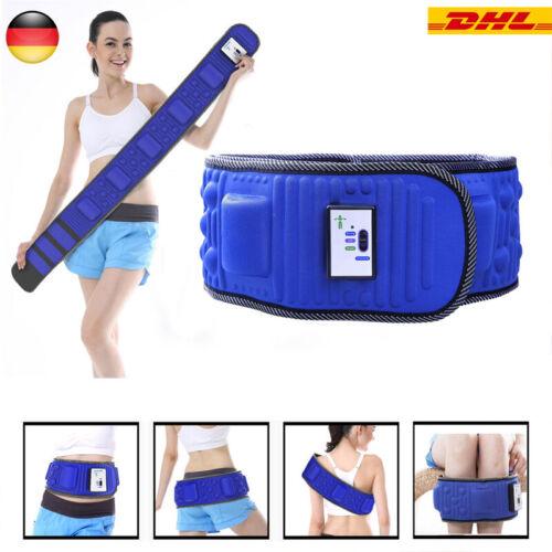 Vibro Slimming Form Tönend Vibration Gürtel Bauch Körper Gewichtsverlust Massage