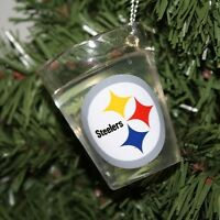 Pittsburgh Steelers Shot Glass Ornament on sale