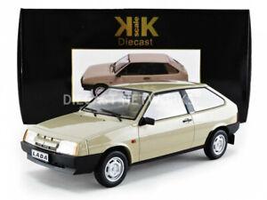 Kk Echelle Modèles 1984 Lada Samara Brun Clair Le De 250 1/18 Nouvelle Version