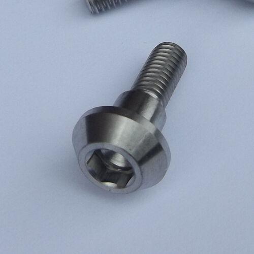 SUZUKI DISC BOLT Titanium M6