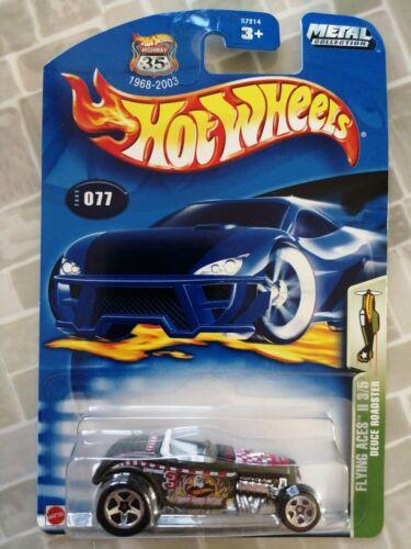 2003 Flying Aces II Hot Wheels Deuce Roadster