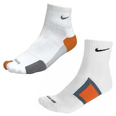 Mens Womens Nike Elite Running Sports Cushioned Ankle Socks