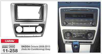 SKODA SEAT CARAV 08-009 Car Radio Install Dash Trim Kit for VOLKSWAGEN