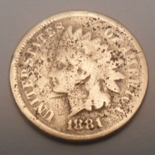 1881 P Indian Head Cent Penny  SDS  **FREE SHIPPING**