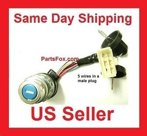 Ignition switch key 5 wire start on off 250cc 150cc 125cc 110cc go image is loading ignition switch key 5 wire start on off freerunsca Image collections