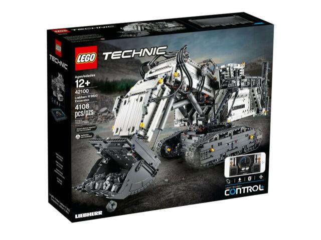 LEGO® TECHNIC 42100 Liebherr Bagger R 9800 - NEU I OVP BLITZVERSAND + GESCHENK!
